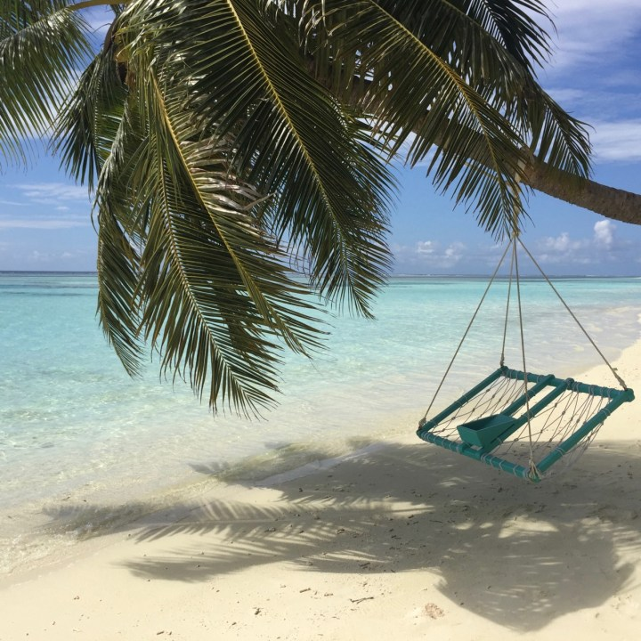 travel with children kids maldives lux south ari atoll paradise swing