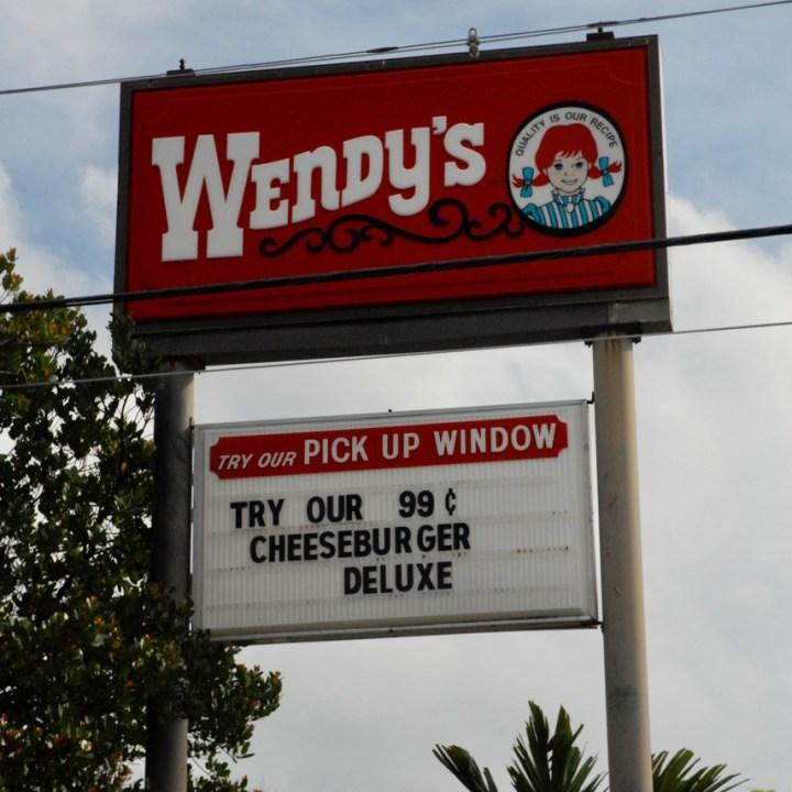 travel with kids children miami usa downtown miami wendy's fastfood