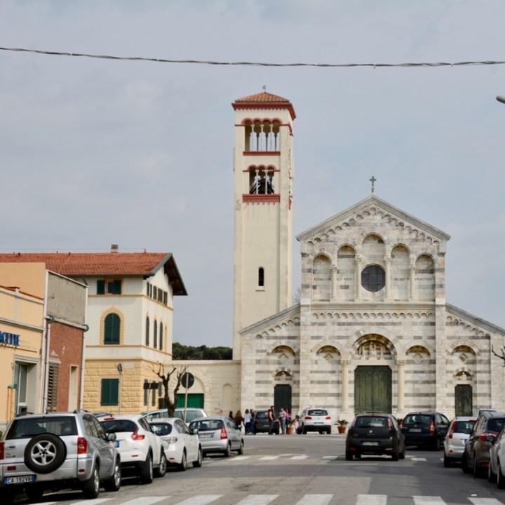 travel with kids children pisa italy marina di pisa church