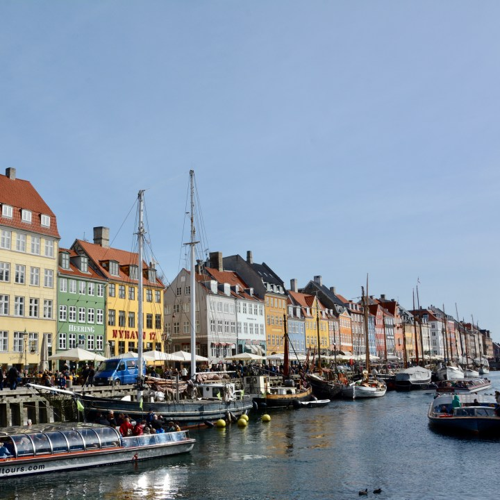 travel with kids children Copenhagen Denmark nyhavn canal architecture
