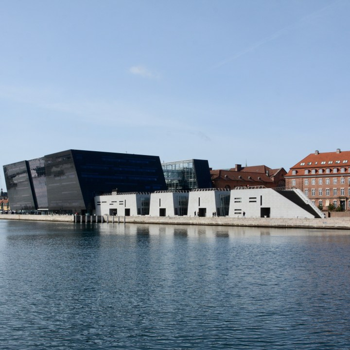 travel with kids children Copenhagen Denmark black diamond library