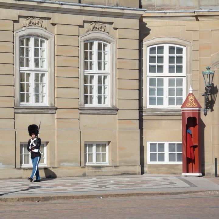 travel with kids children copenhagen denmark amalienborg royal guard
