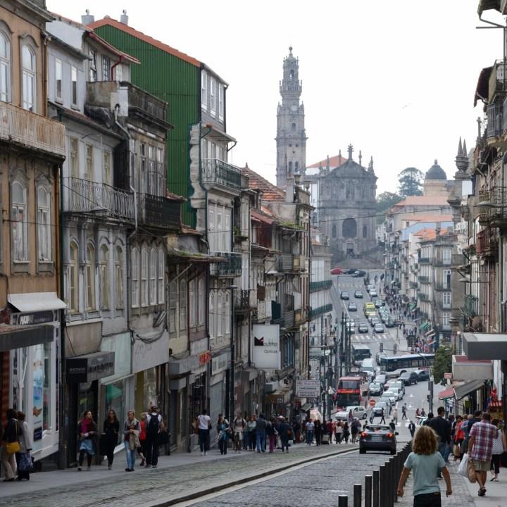 travel with kids children porto portugal shopping