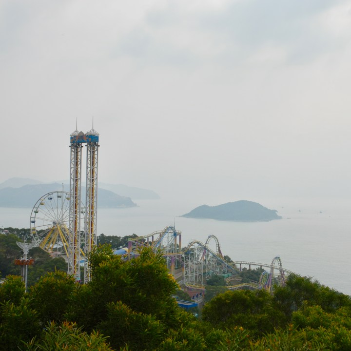 hong kong ocean park with kids children china summit