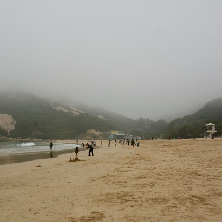 travel with kids children hong kong china shek o beach