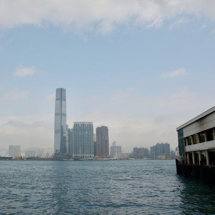 travel hong kong with kids children central ferry pier view kowloon