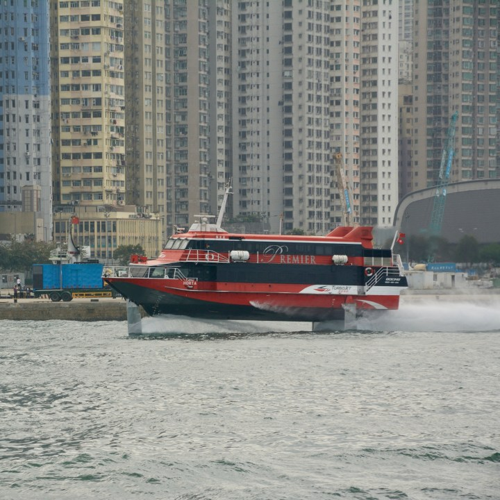 travel hong kong with kids children fast ferry macao