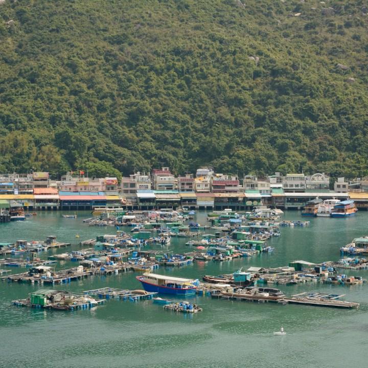 travel hong kong with kids children lamma island sok kwu village view