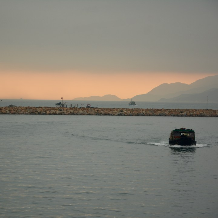 travel with kids children cheung chau island hong kong sunset
