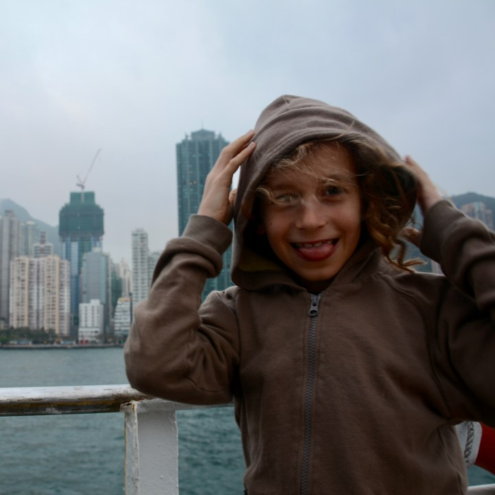 travel with kids children cheung chau island hong kong ferry ride