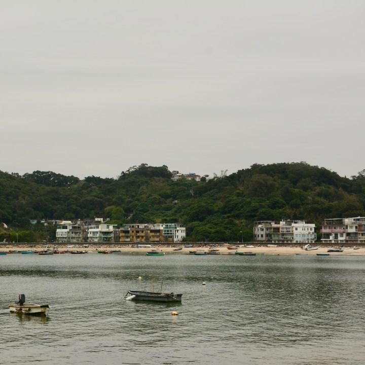 travel with kids children peng chau hong kong tung wan beach