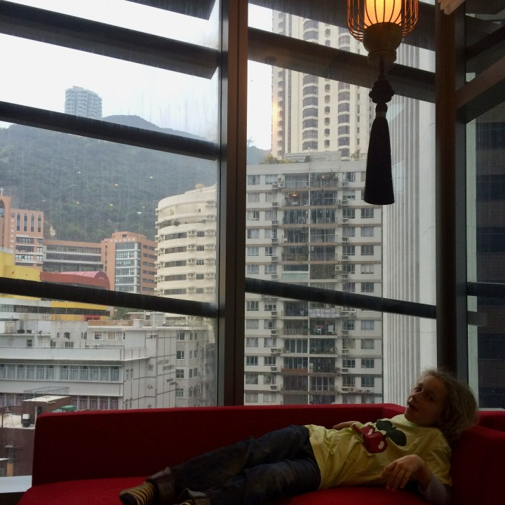 travel with kids children hong kong china hotel indigo wan chai