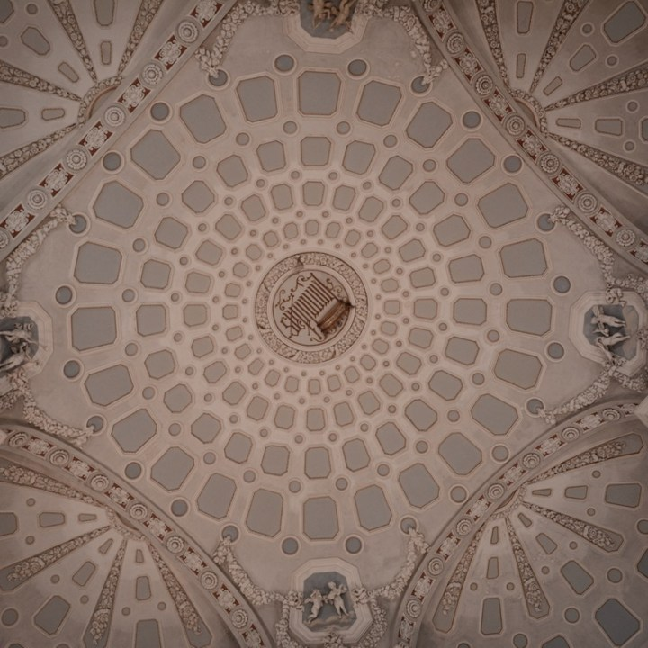 travel with kids children isola bella lago maggiore italy palazzo borromeo ceiling