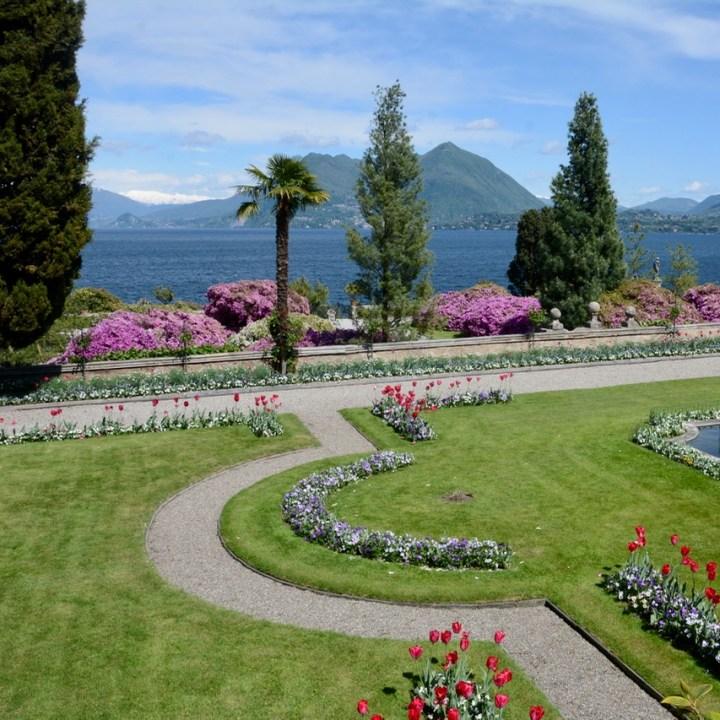 travel with kids children isola bella lago maggiore italy palazzo borromeo garden