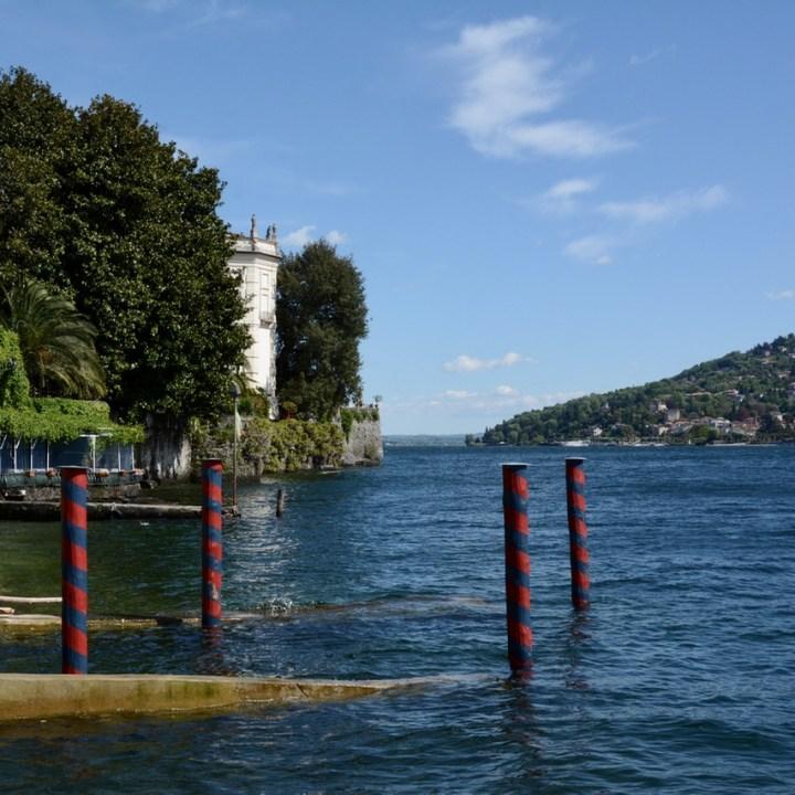 travel with kids children isola bella lago maggiore italy palazzo borromeo boat landing