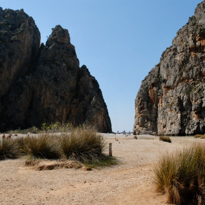 travel with kids children soller mallorca spain torrent de pareis sa calobra