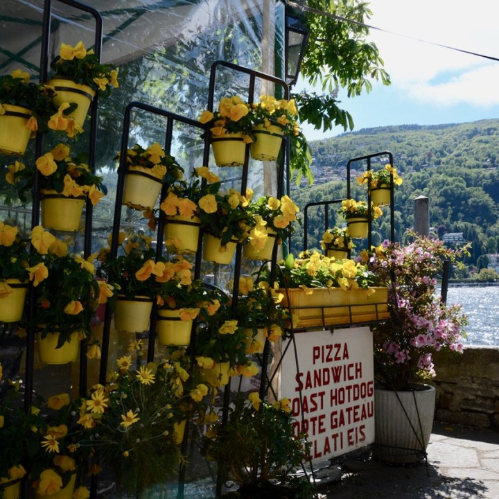 travel with kids children isola bella lago maggiore italy restaurant