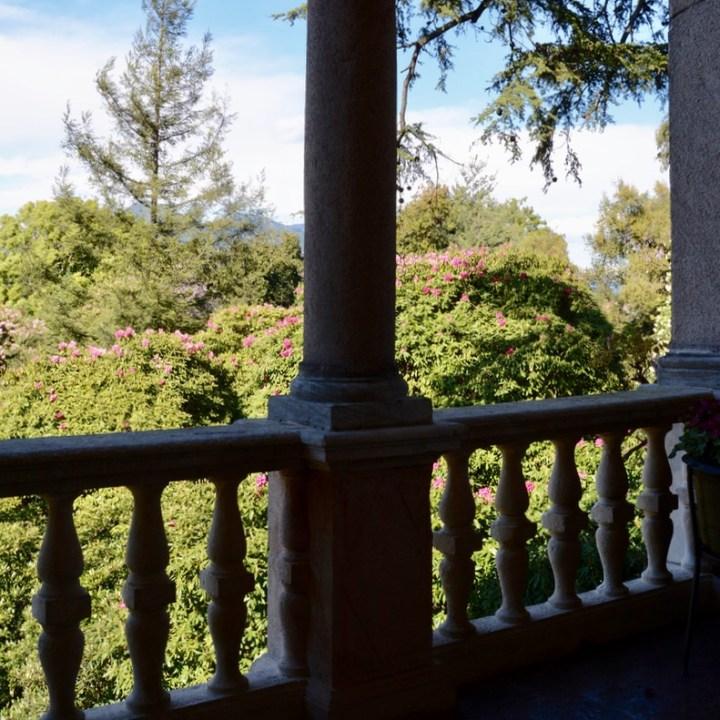 travel with kids children isola madre lago maggiore italy palazzo borrromeo balcony