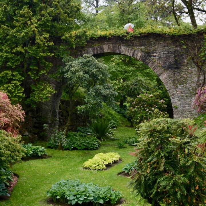 travel with kids children villa taranto botanical garden pallanza lago maggiore bridge