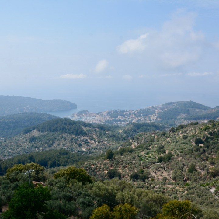 travel with kids children soller mallorca spain mirador ses barques port view