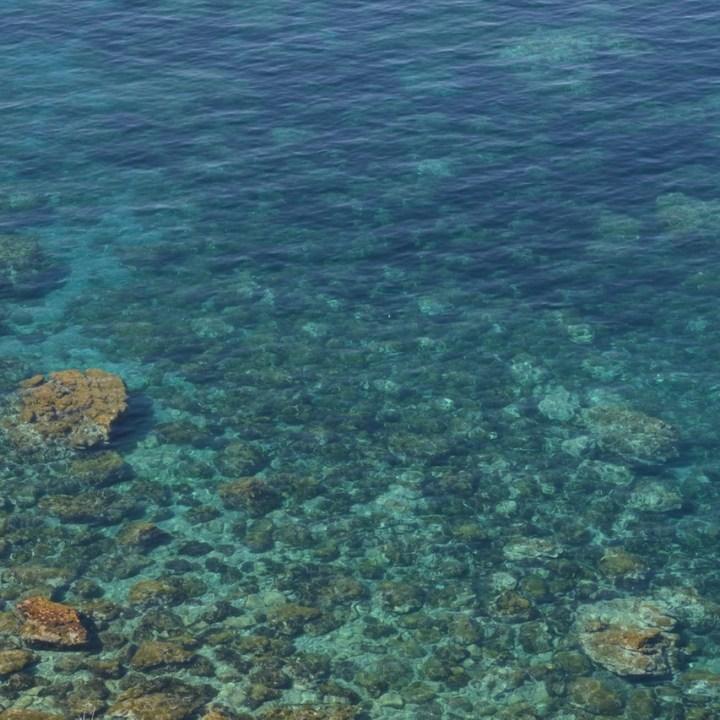 travel with kids children soller mallorca spain coastal hike ben's d'avall to cala deia crystal clear sea