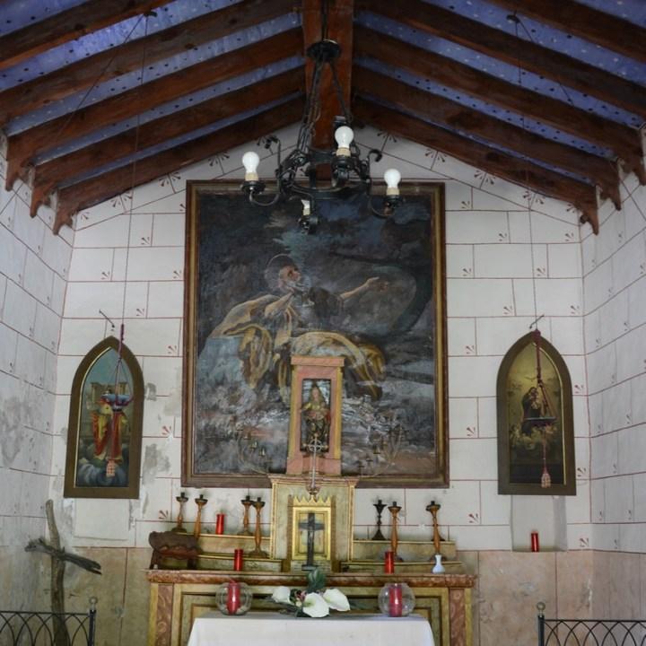 travel with kids children soller mallorca spain hiking cala tuent baltix d'avall chapel