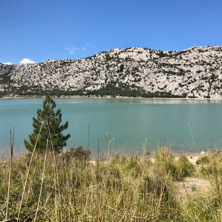 travel with kids children soller mallorca spain three mountain tops hike lofre cuber reservoir