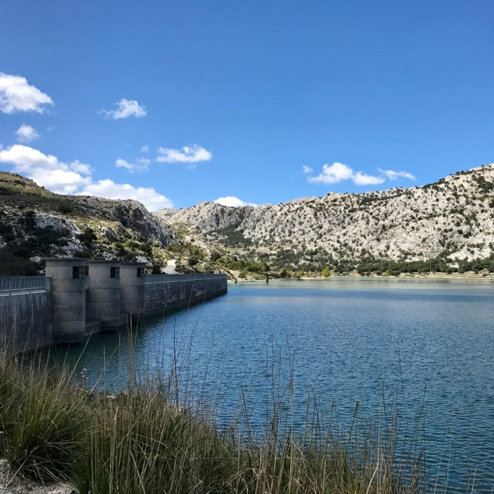 travel with kids children soller mallorca spain three mountain tops hike lofre dam