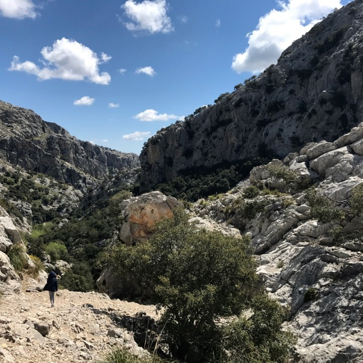 travel with kids children soller mallorca spain three mountain tops hike lofre path