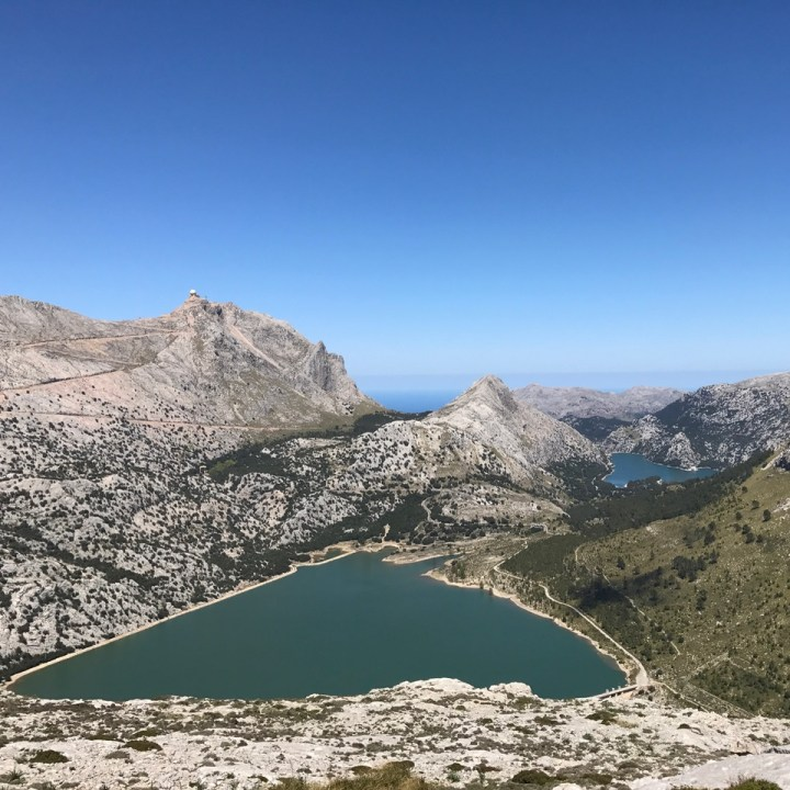 travel with kids children soller mallorca spain three mountain tops hike lofre water reservoirs
