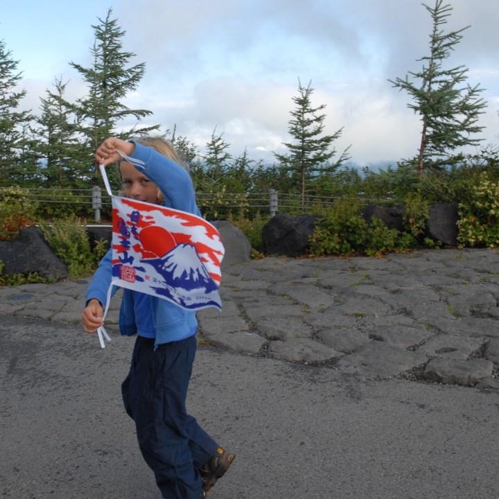 travel with kids hiking mount fuji japan we did it