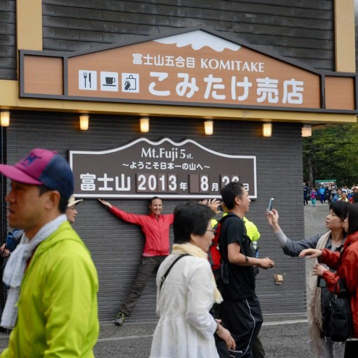travel with kids hiking mount fuji japan souvenir