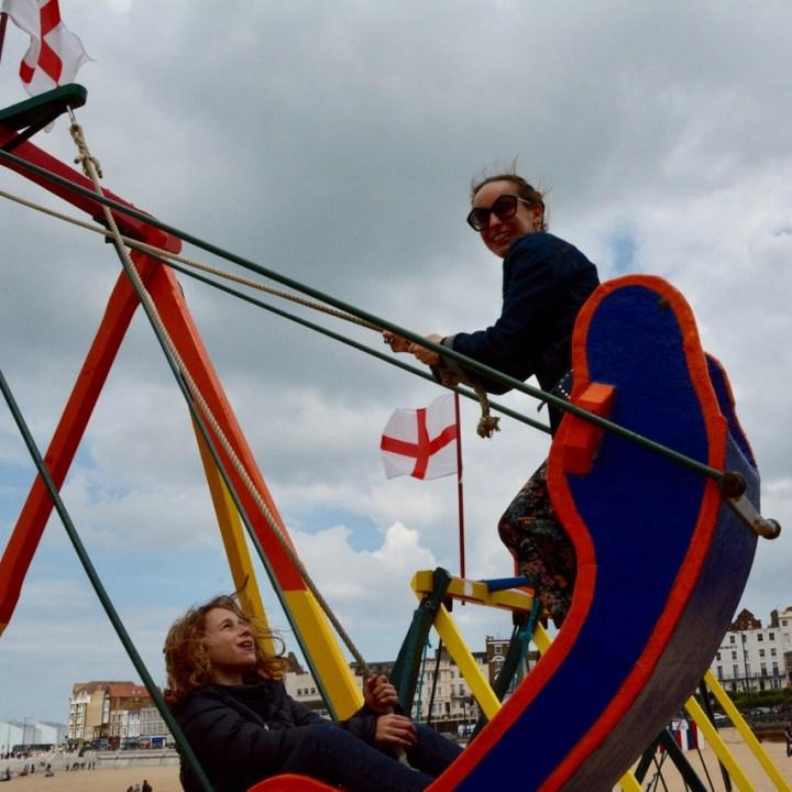 swing boat ride