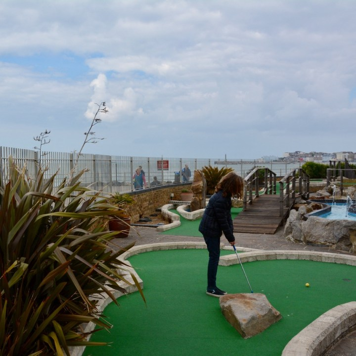 game of crazy golf