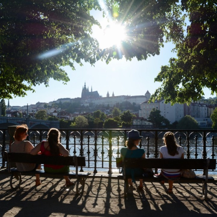 Prague, Czech Republic | A Tour of the Petrin Park and the Mirror Maze with Kids