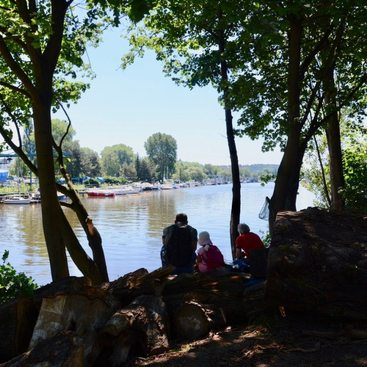 travel with kids prague river fishing
