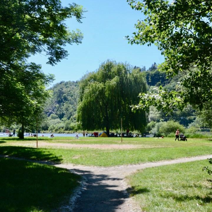 prague with kids guide river park