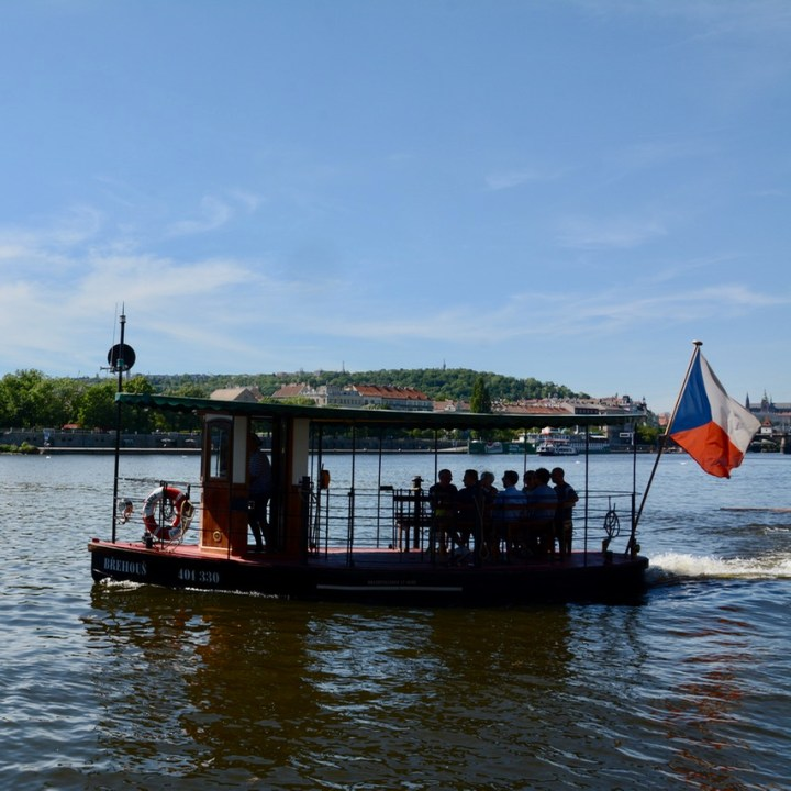prague with kids guide ferry ride