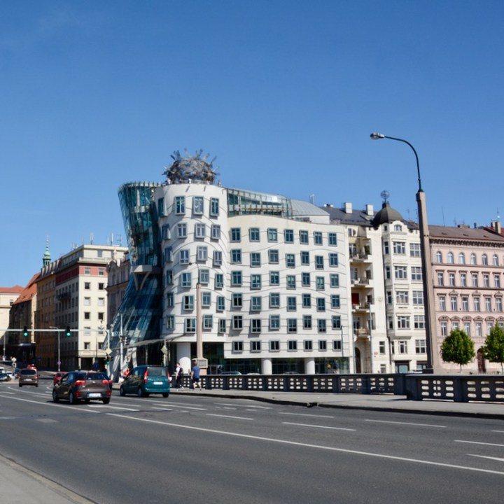 travel with kids prague dancing house