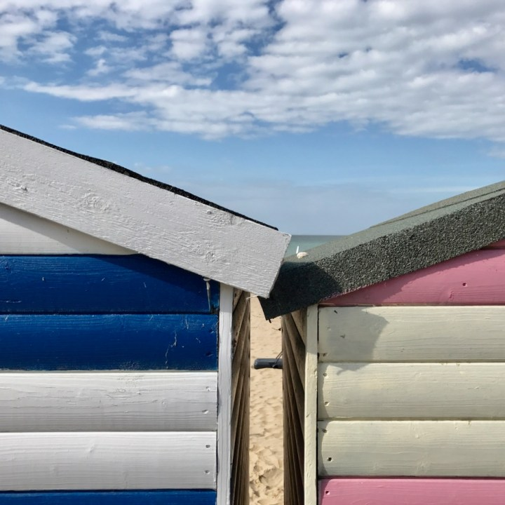 Beach hut in Margate