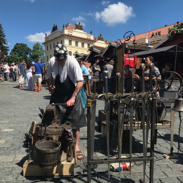 prague with kids guide sword smith