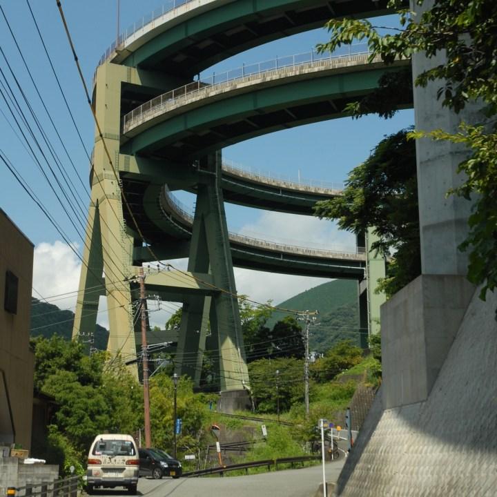 shimoda japan with kids kawazu loop bridge