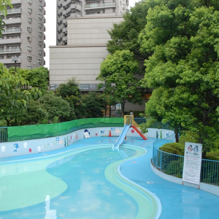 tokyo japan with kids cycling haneda meguro pool