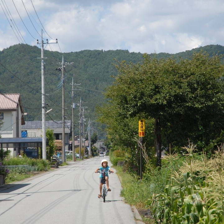cycling with kids lake yamanakako route