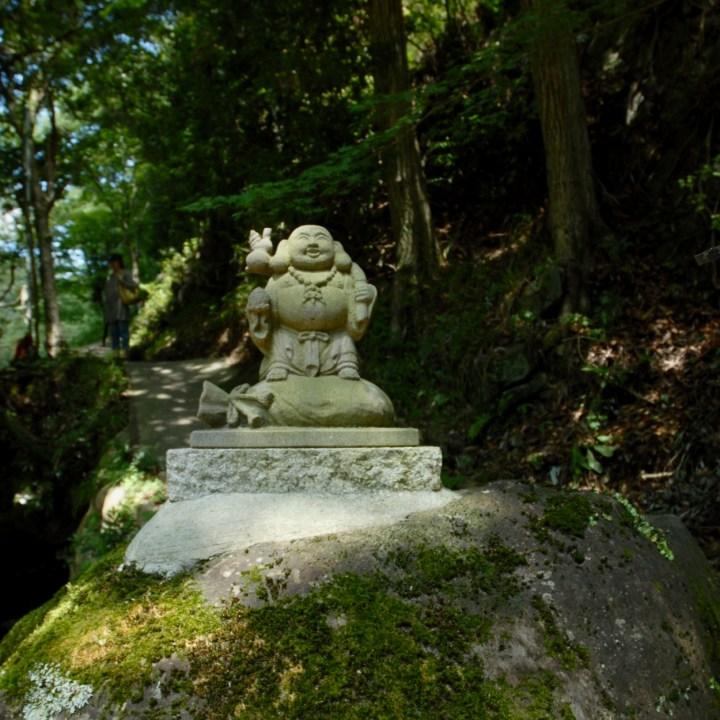 shimoda japan with kids kawazu seven waterfall buddha