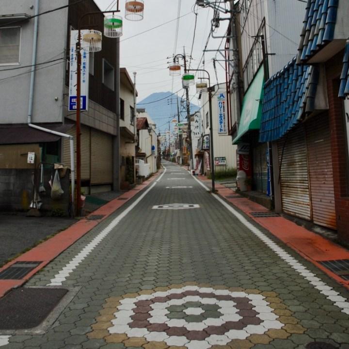 japan with kids mt fuji fijuyoshida street art