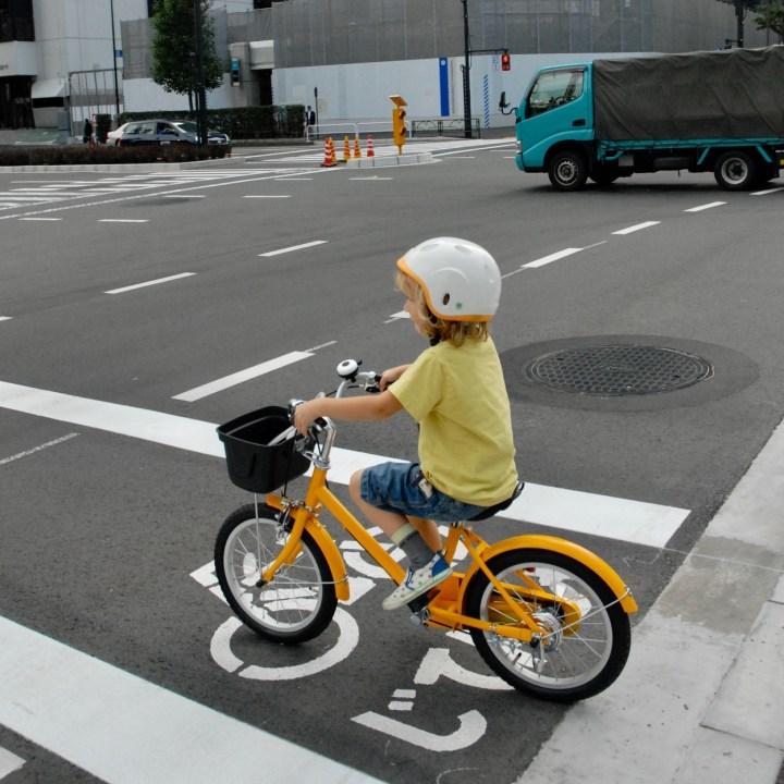 cycling tokyo kids