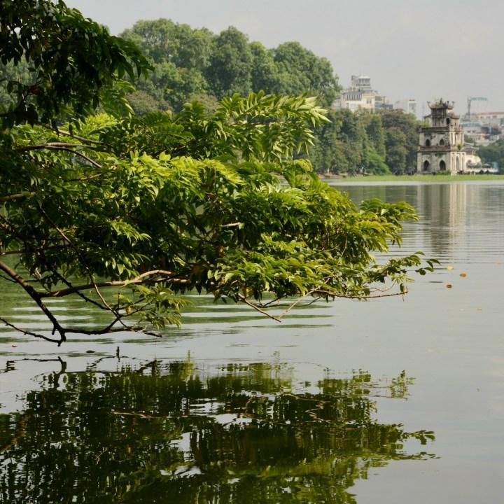 travel with kids vietnam hanoi horn kiem lake
