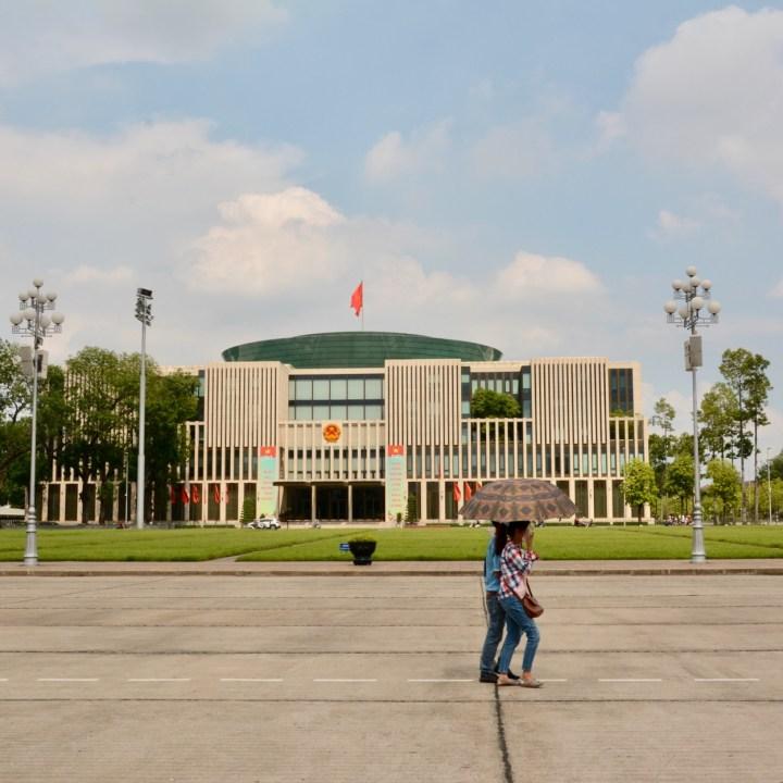 travel with kids vietnam hanoi ho chi minhassembly building