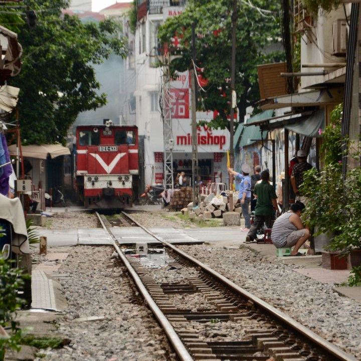 Hanoi, Vietnam | Train Spotting at the Famous Train Alley in Hanoi